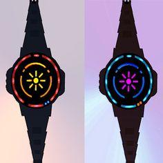 Sunrise LED Watch #tech #amazing #modern #innovation #design #futuristic #gadget #ideas #craft #illustration #industrial #concept #art #cool