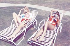 Inspiration for artists from Wildfox Couture - I LOVE WILDFOX - Sweet Valley Fox, Summer 2011 #wildfox #sun #photography #girls