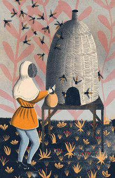 EleanorTaylor_01 #beehive #illustration #bee #eleanortaylor