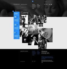 Tomasz Opalka Website Concept on Web Design Served
