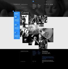 Tomasz Opalka Website Concept on Web Design Served