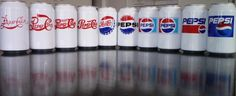 pepsi-11.png 1163×478 pixels #beverage #pepsi #evolution #logo #can