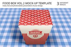 Food Box Vol.2 Mock-up Template https://creativemarket.com/itembridge/3861-Food-Box-Vol.2-Mock-up-Template SPEC: — Easy to customize (ba #shadows #3d #layered #red #modern #mockup #packaging #photo #box #food #clean #highlights #transparent #product #realistic #template #logo #paper #fast #mockups