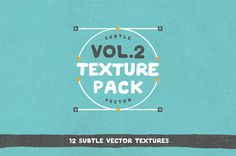 Free Subtle Vector Texture Pack! #free #texture #vector