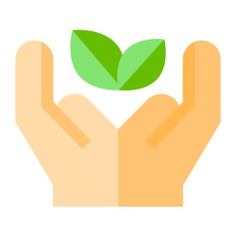 See more icon inspiration related to treatment, wellness, hands and gestures, leafs, therapy, herbal, leaves, natural, plant, science and nature on Flaticon.