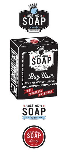 Just Add Soap Branding By Rev Pop