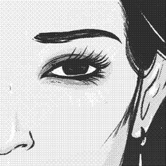 illustration, foundation, series, minimal, black, white, screen print, art