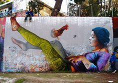 Street Art By Pichi and Avo – In Spain and Greece #greece #spain #art #street