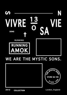 marcellovelho:vivre sa vie, design lay out #type #poster