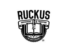 Invest Your Time #stamp #banner #white #badge #book #black #tradition #read #vintage #ruckus #knife #crew