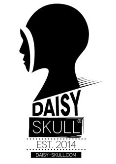 Daisy Skull (R) - Designer Fashion #design #daisy #fashion #logo #skull