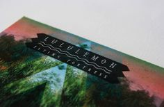 Lululemon - Pyramid Studio #typography