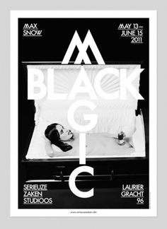 Max Snow / Black Magic #poster