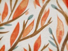 Dribbble - Leafy illo by Leah Correa #illustration #branch #leaf