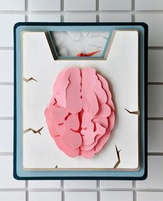 Medicine + Science Redesign: Paper Illustration | Flickr - Photo Sharing! #paper #brain