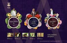 Kee Club Website | ALONGLONGTIME #website #purple #painting #luxury #club