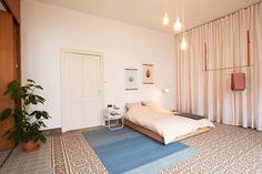 espoo. koos voor pastel, en combineert de retro omgeving met Scandinavische strakheid. #interior