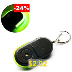 Whistle #Induction #Key #Anti-lost #Alarm #Keychain #- #GREEN