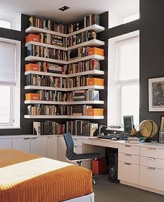 Corner shelves.Rent Direct.com No Fee Apartment Rentals in NY. #corner shelves
