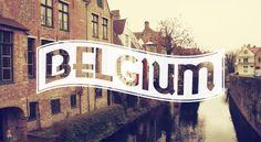 Europe in Typography – Fubiz™ #type #belgium #europe #typography