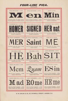 caslon epitome #type #specimen #typography #vintage