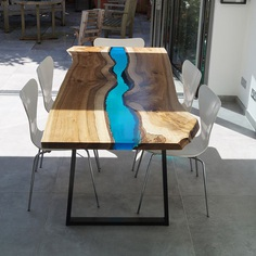 Walnut River Table by Revive Joinery