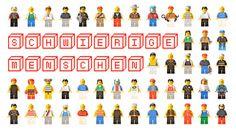 """Flyer """"Schwierige Menschen"""" #flyer #lego #menschen #schwierige"""