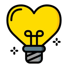 See more icon inspiration related to idea, love, like, bulb, love and romance, invention, valentines day, heart shaped, romantic, electronics, heart, light bulb, shapes and technology on Flaticon.