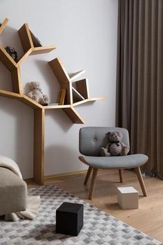 Golden Oak Apartment / Design Studio of Yuriy Zimenko 8