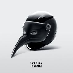 Anton Repponen #venice #helmet #raven