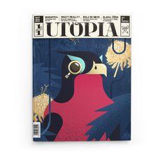 Magazine Cover Illustration Layout