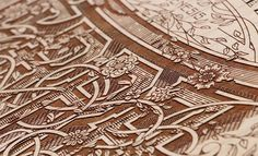 Kevin Cantrell / Terra Poster | Allan Peters' Blog #engraved #lazer