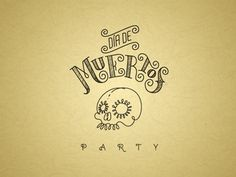 Dribbble - Día de Muertos by Christian Antolin #dribble #muertos #typography #antolin #skull #christian #death #party