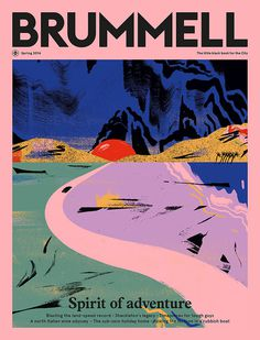 cynthia kittler #brummell #pink #magazine