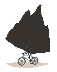 Illustration #jaco #haasbroek #mounntain #bike #illustrao