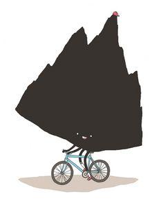 Illustration #jaco #haasbroek #mounntain #bike #illustrao
