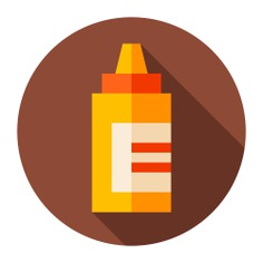 See more icon inspiration related to mustard, food and restaurant, ketchup, spicy, bottle and food on Flaticon.