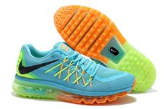 New Nike Shoes Air Max 2015 Cushion Green Blue