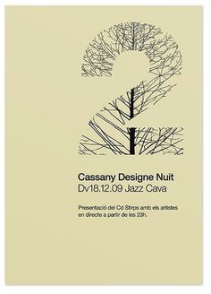 Poster Stirps jazz cava — marindsgn | Flickr - Fotosharing! #culture #design #graphic #minimalistic