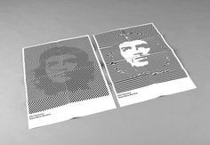 Holger Huber — Graphic Design #illusion #blackwhite #guevara #che #illustration #poster