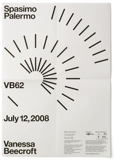 Vanessa Beecroft VB62 - Experimental Jetset #poster