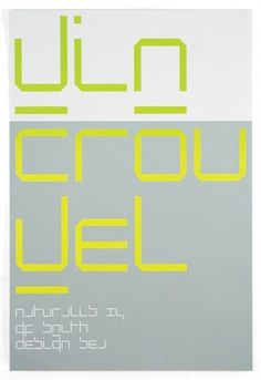 SEA Design #design #sea #crouwel #poster #wim