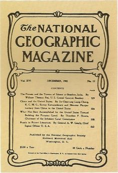 1905.jpg (400×585) #1900 #1905 #geographic #cover #national #magazine