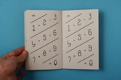 Ivan Rodéo Rodriguez #specimen #rodriguez #book #ivan #numbers #rodo #typo #typography