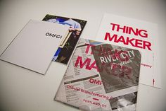 OMFG co. Design showcase book. #henderson #packaging #portland #book #promo #kendall #omfgco #oregon