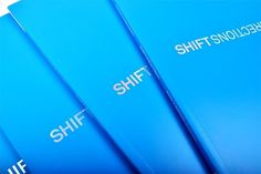 Shift Directions Book - FPO: For Print Only #design #graphic #book #covers