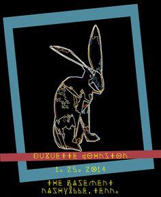 Duquette Johnston, Nashville show #music #design #poster #duquette