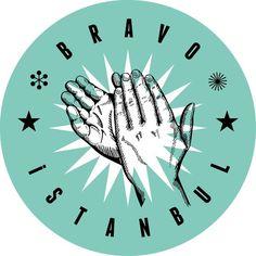 Bravo Istanbul #bravo #logotype #design #hands