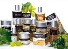 Diseño de identidad visual y packaging de productos - Skinwine Cosmetics | estudiosoto.com