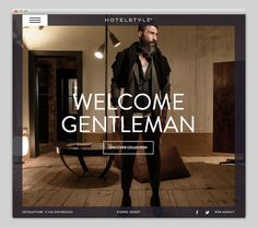 Hotel #website #layout #design #web